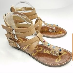 8775405d03f3 Sam Edelman Shoes - Sam Edalman Genevieve Gladiator Sandals --B13